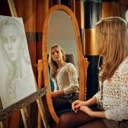 Christina, Self-Portrait