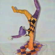 Harlequin Balancing, Sculpture