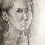 Self-Portrait, Polina, 2013