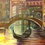 Venice, Painting, Haleh, 23