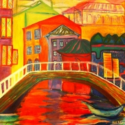 Venice II, Painting, Haleh, 23
